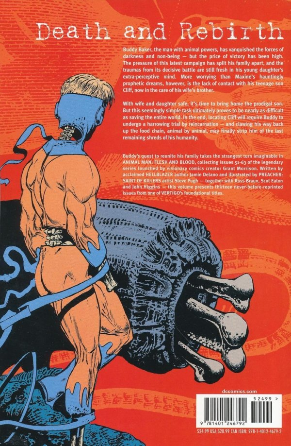 ANIMAL MAN VOL 06 FLESH AND BLOOD SC