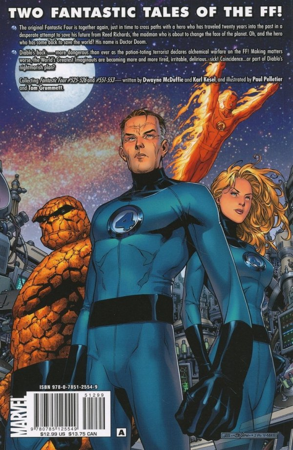 FANTASTIC FOUR THE BEGINNING OF THE END SC *