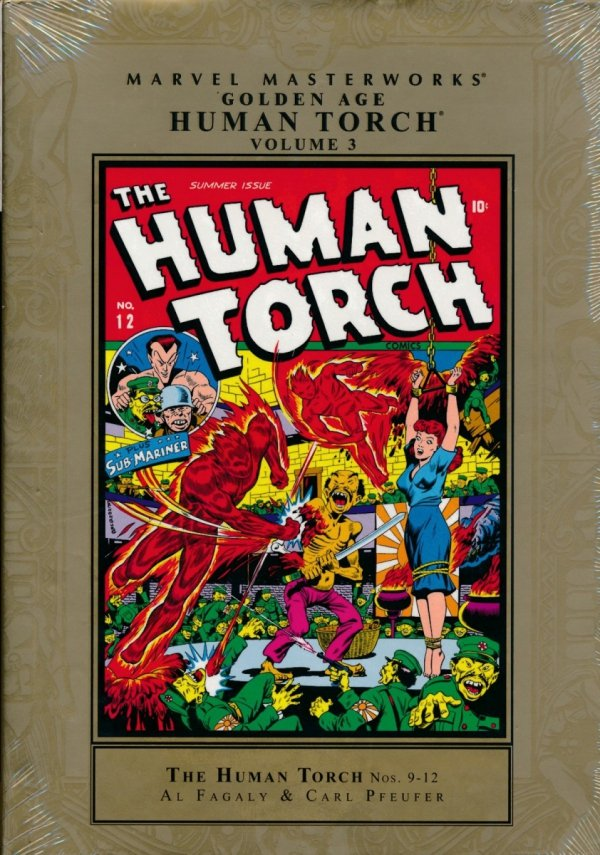 MARVEL MASTERWORKS GOLDEN AGE HUMAN TORCH VOL 03 HC (STANDARD COVER) **