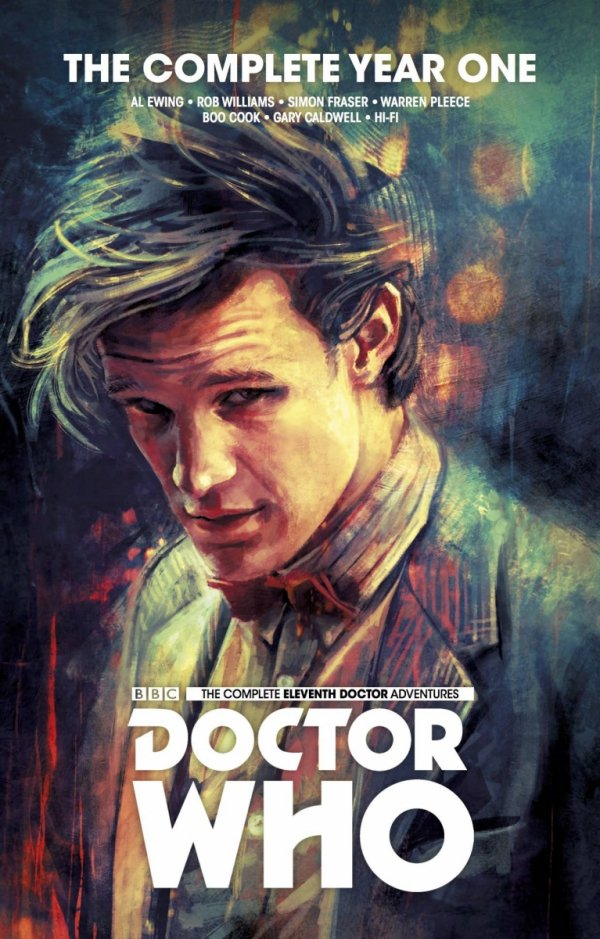 DOCTOR WHO 11TH COMPLETE EDITION YEAR ONE HC *