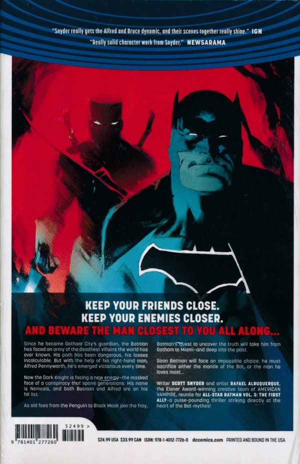ALL-STAR BATMAN VOL 03 THE FIRST ALLY HC
