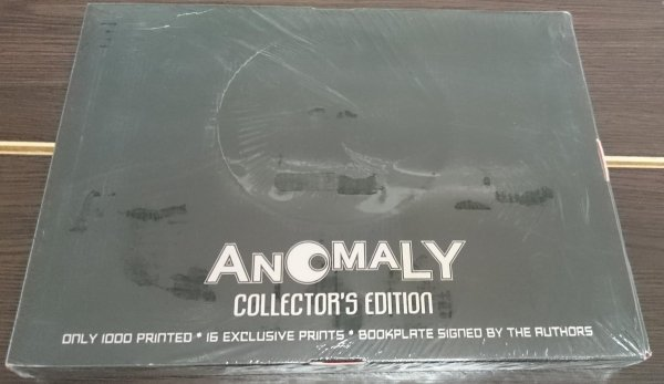 ANOMALY COLLECTORS EDITION HC (BOX)