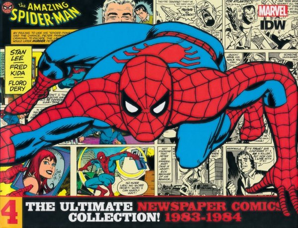 AMAZING SPIDER-MAN ULTIMATE NEWSPAPER COMICS COLLECTION VOL 04 1983-1984 HC