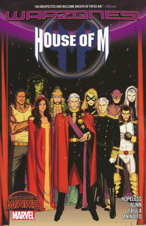 HOUSE OF M WARZONES SC