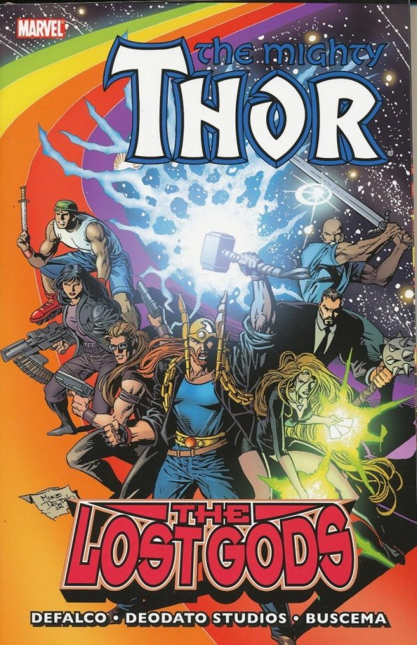 THOR THE LOST GODS SC