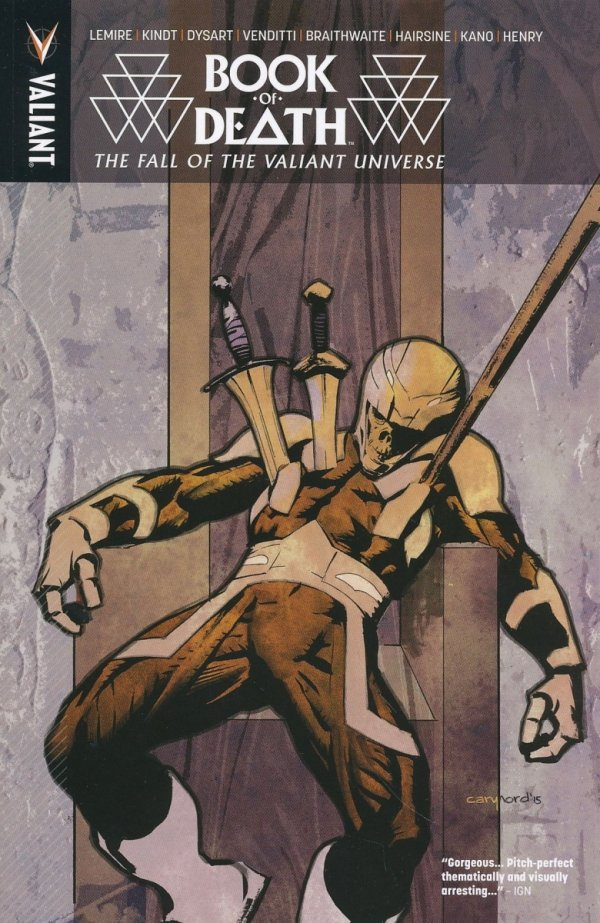 BOOK OF DEATH FALL OF THE VALIANT UNIVERSE TP