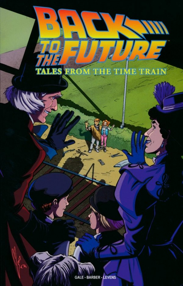 BACK TO THE FUTURE TALES FROM THE TIME TRAIN SC