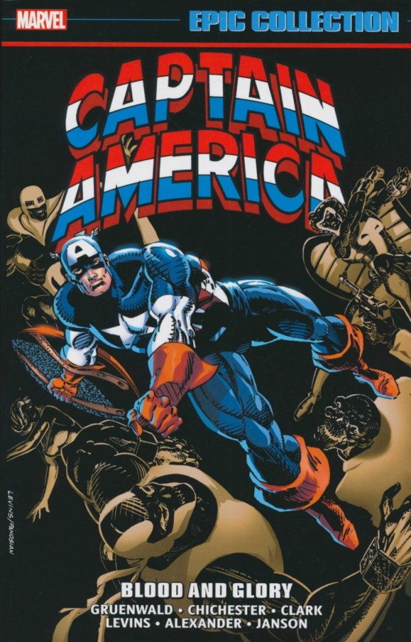 CAPTAIN AMERICA EPIC COLLECTION BLOOD AND GLORY SC