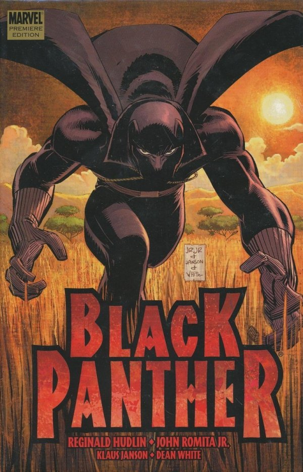 BLACK PANTHER WHO IS THE BLACK PANTHER HC