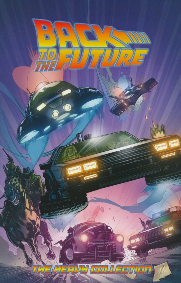 BACK TO THE FUTURE THE HEAVY COLLECTION VOL 02 SC
