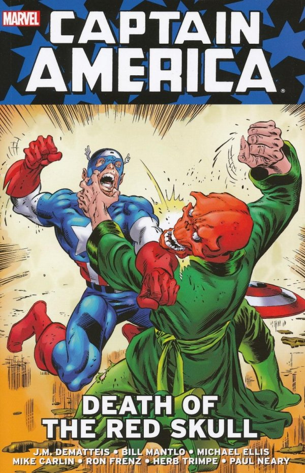 CAPTAIN AMERICA DEATH OF THE RED SKULL SC