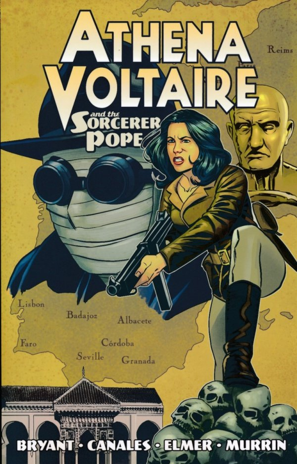 ATHENA VOLTAIRE VOL 02 AND THE SORCERER POPE SC