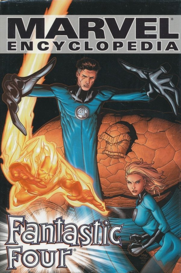 MARVEL ENCYCLOPEDIA VOL 06 FANTASTIC FOUR HC