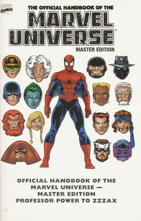 ESSENTIAL THE OFFICIAL HANDBOOK OF THE MARVEL UNIVERSE MASTER EDITION VOL 03 SC *