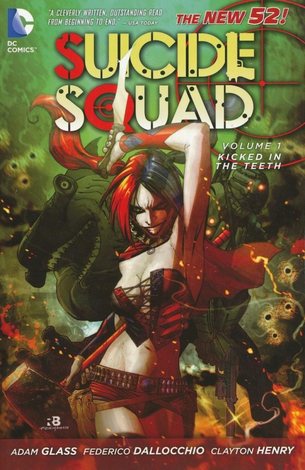 SUICIDE SQUAD VOL 01 KICKED IN THE TEETH SC