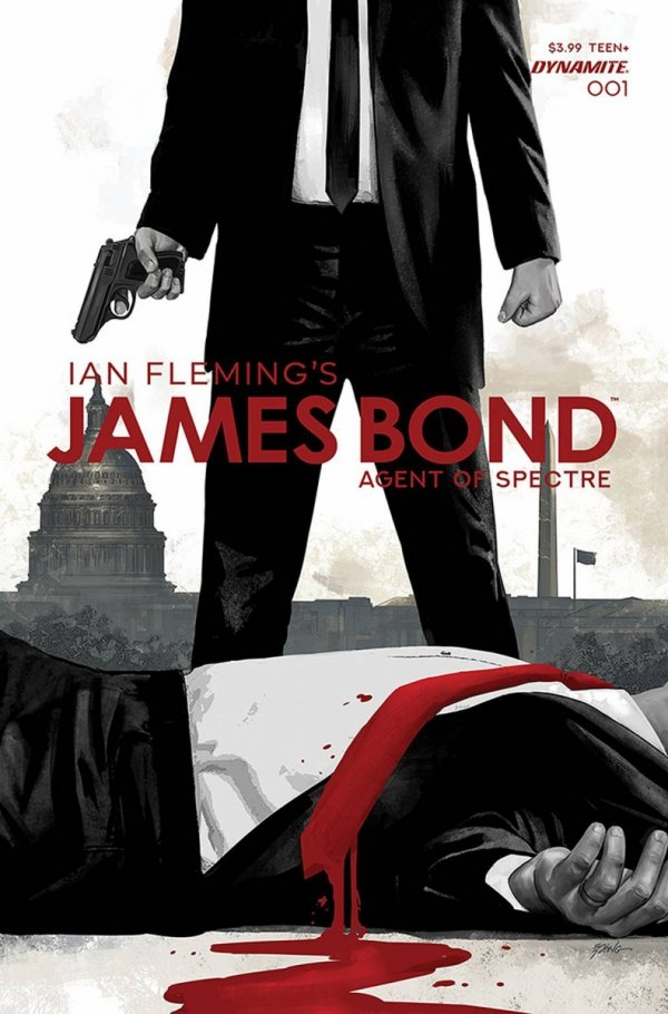 JAMES BOND AGENT OF SPECTRE #1