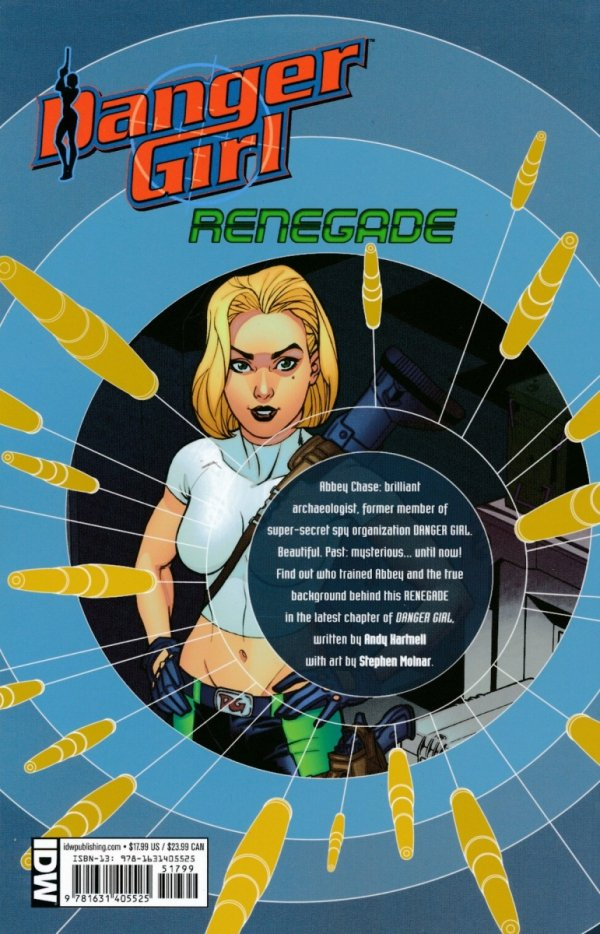 DANGER GIRL RENEGADE TP