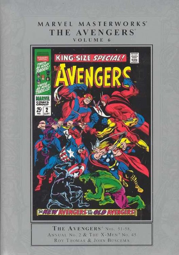 MARVEL MASTERWORKS THE AVENGERS VOL 06 HC (NEW EDITION) (STANDARD COVER) *
