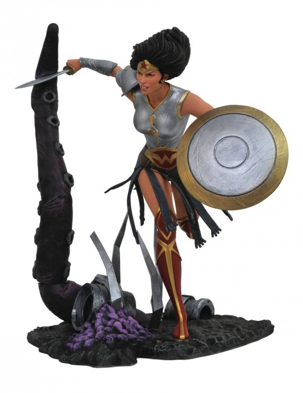 DC GALLERY METAL WONDER WOMAN PVC STATUE