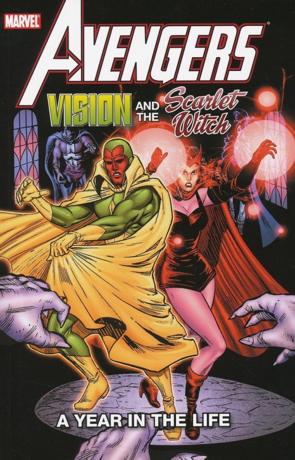 AVENGERS VISION AND THE SCARLET WITCH A YEAR IN THE LIFE SC