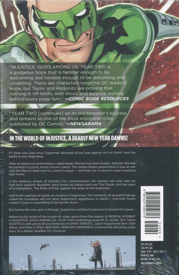 INJUSTICE GODS AMONG US YEAR TWO VOL 01 HC