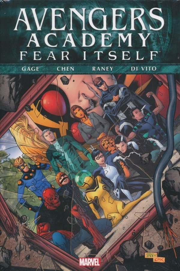 FEAR ITSELF AVENGERS ACADEMY HC