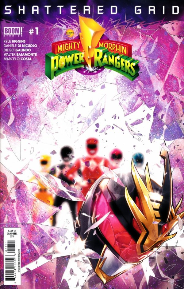 MIGHTY MORPHIN POWER RANGERS SHATTERED GRID #1 (SALEństwo)