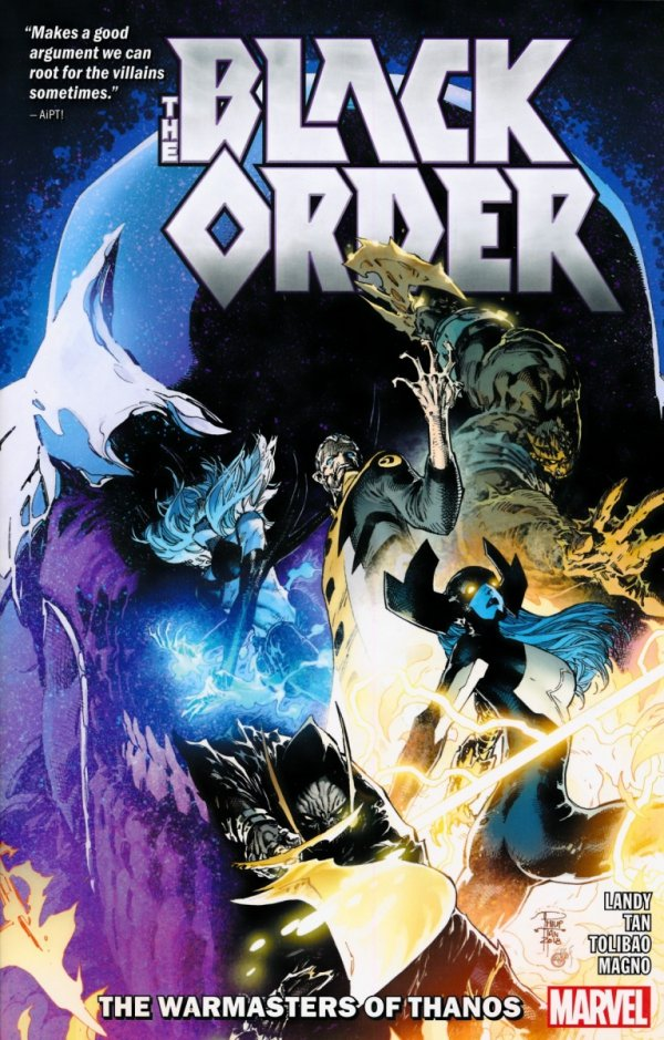 BLACK ORDER THE WARMASTERS OF THANOS SC