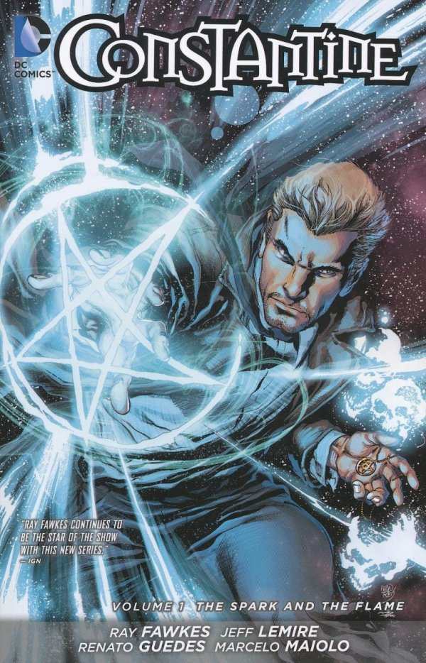 CONSTANTINE VOL 01 THE SPARK AND THE FLAME SC