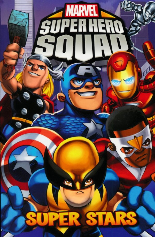 MARVEL SUPER HERO SQUAD SUPER STARS SC