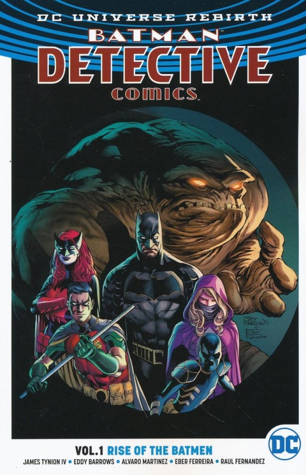 BATMAN DETECTIVE COMICS VOL 01 RISE OF THE BATMEN SC