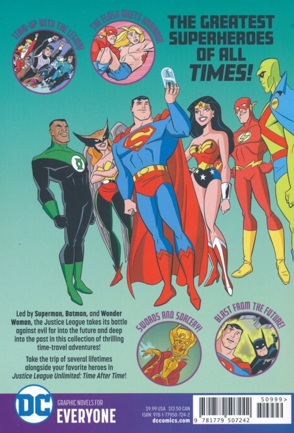 JUSTICE LEAGUE UNLIMITED TIME AFTER TIME SC