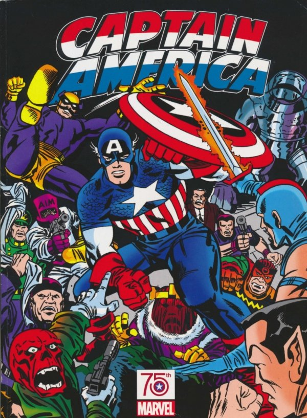 CAPTAIN AMERICA 75TH ANNIVERSARY MAGAZINE KIRBY CVR