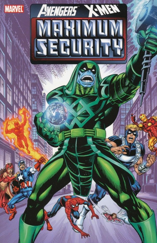 AVENGERS X-MEN MAXIMUM SECURITY SC