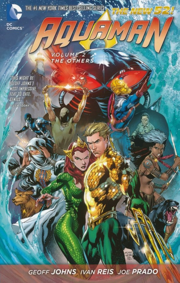 AQUAMAN VOL 02 THE OTHERS (THE NEW 52) SC