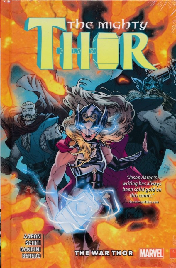 MIGHTY THOR VOL 04 THE WAR THOR HC