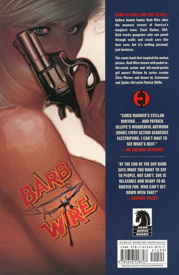 BARB WIRE TP VOL 01 STEEL HARBOR BLUES