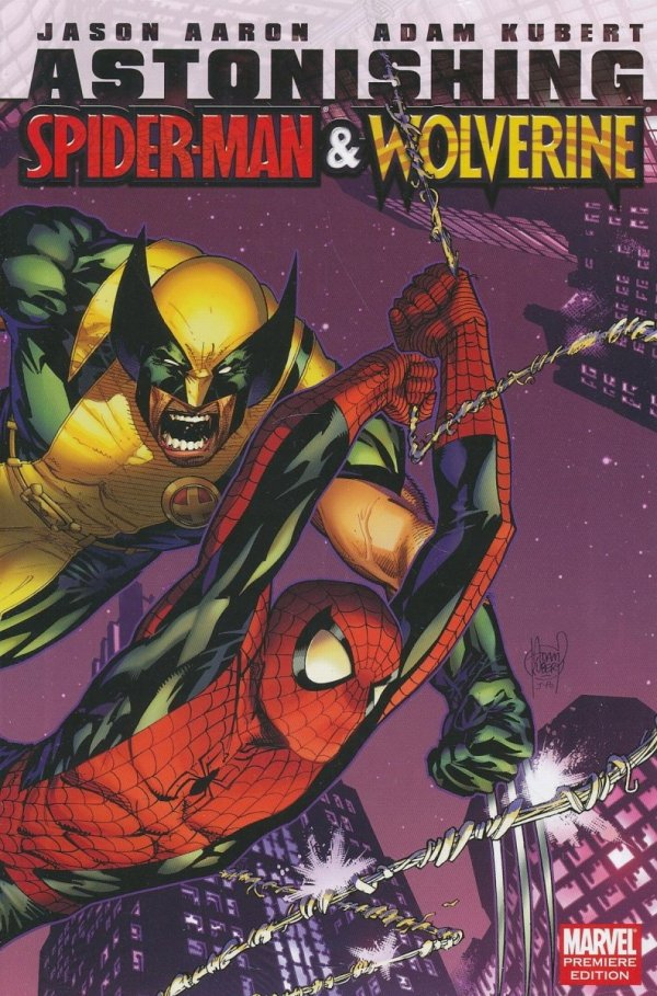 ASTONISHING SPIDER-MAN AND WOLVERINE HC