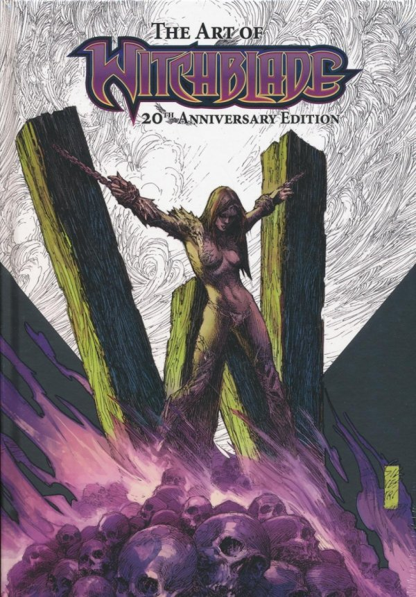 20TH ANNIVERSARY SPECIAL ART OF WITCHBLADE HC