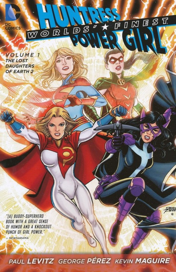WORLDS FINEST VOL 01 THE LOST DAUGHTERS OF EARTH 2 SC