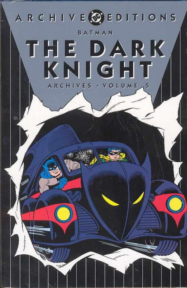 BATMAN THE DARK KNIGHT ARCHIVES VOL 05 HC **