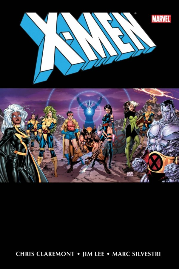X-MEN BY CHRIS CLAREMONT AND JIM LEE OMNIBUS VOL 01 HC (NEW EDITION) (VARIANT COVER) *