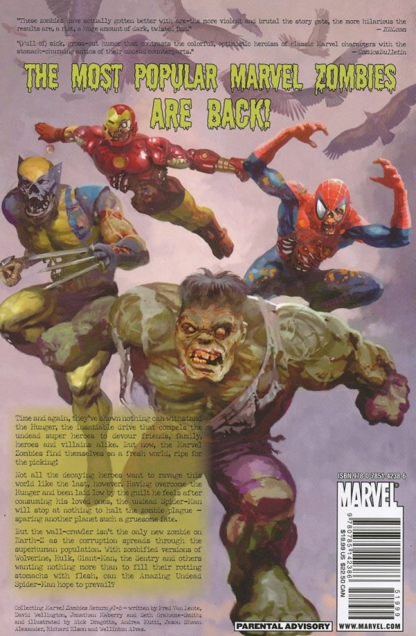 MARVEL ZOMBIES RETURN SC