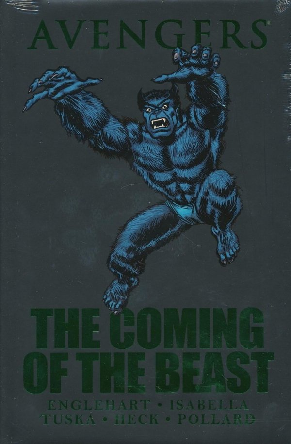 AVENGERS THE COMING OF THE BEAST HC (STANDARD COVER)