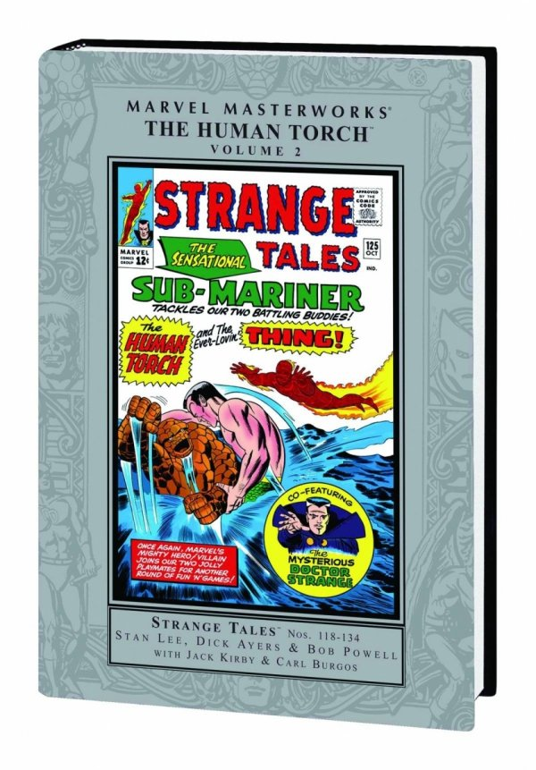 MARVEL MASTERWORKS THE HUMAN TORCH VOL 02 HC (STANDARD COVER) **