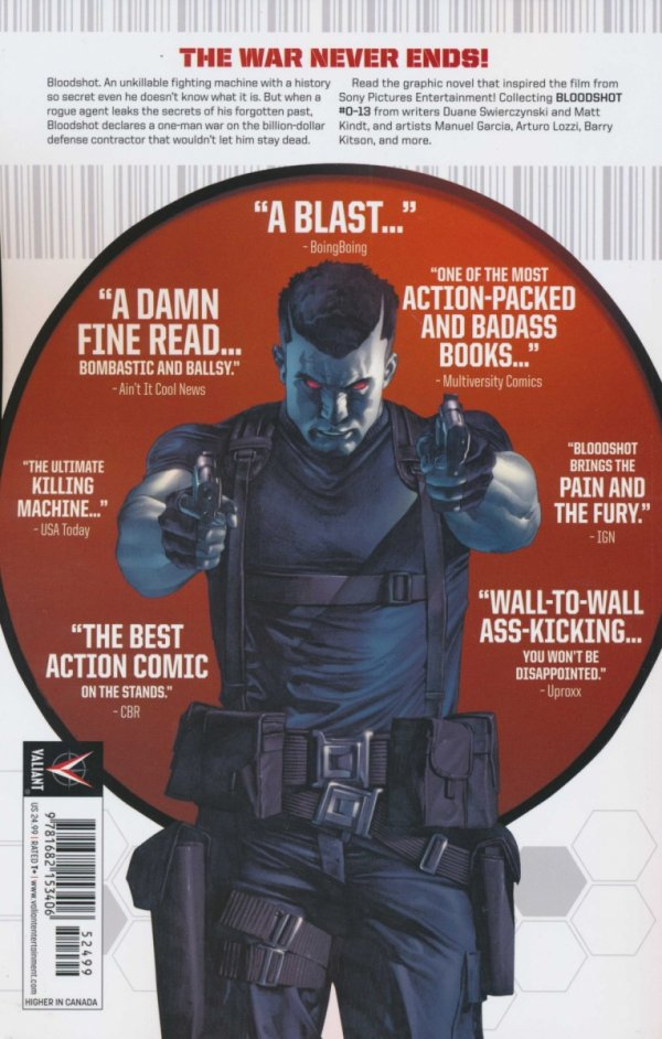 BLOODSHOT DEFINITIVE EDITION SC