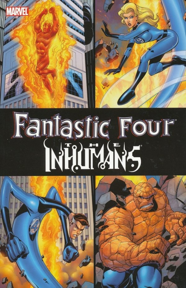 FANTASTIC FOUR INHUMANS TP