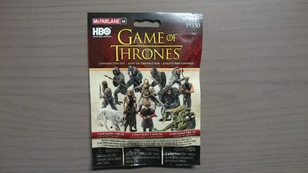 GAME OF THRONES CONSTRUCTION SET BLIND BAG FIGURE BS