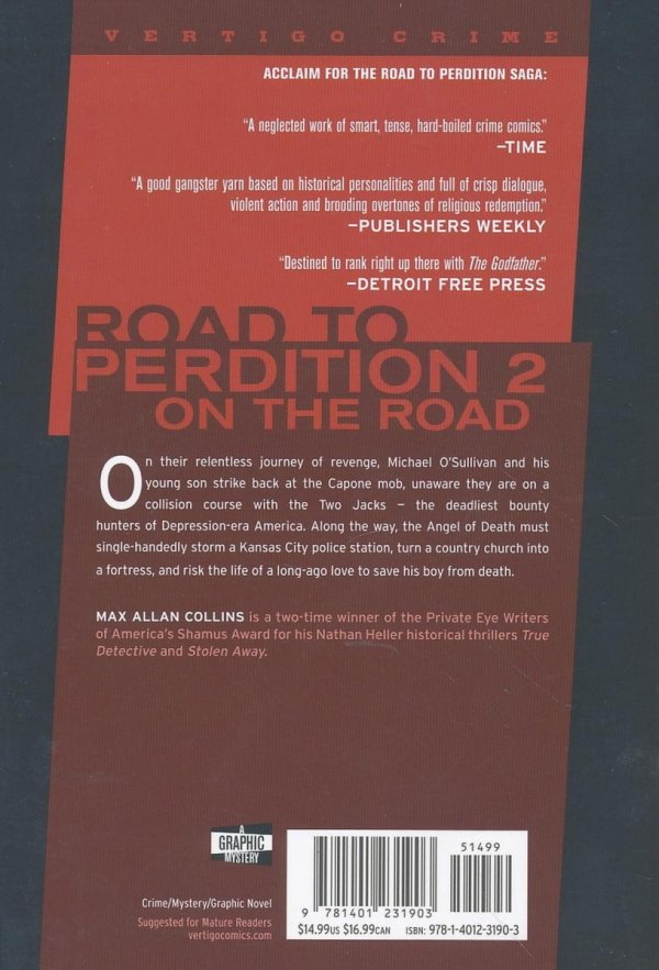ROAD TO PERDITION VOL 02 ON THE ROAD SC (NEW EDITION)