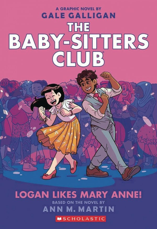 BABY SITTERS CLUB COLOR ED GN HC VOL 08 LOGAN LIKES *